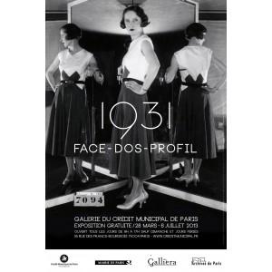 1931, Face – Dos – Profil : La mode sous toutes ses coutures